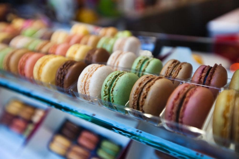 Macarons in Paris, France