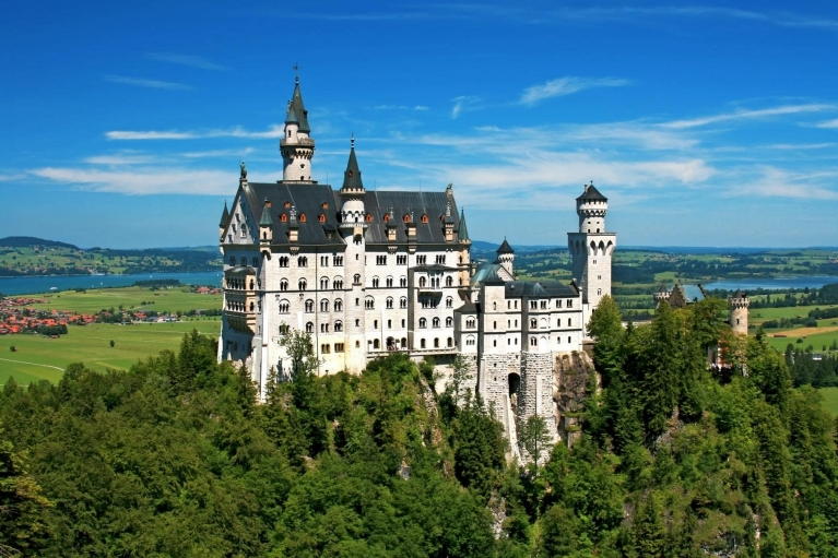 Castello di Neuschwanstein in Baviera, Germania