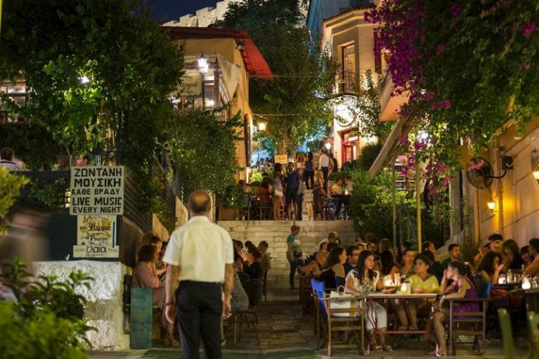 Restaurants in Athens
