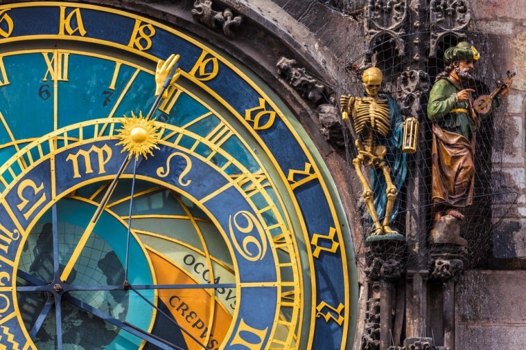 Astronomical clock in Prague | 24 hours in Prague