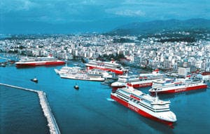 Patras harbour
