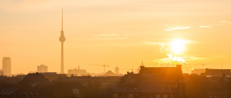 Sunrise over Berlin