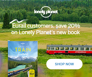 Eurail Lonely Planet Train Journeys 300x250