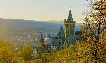 (Winner photo) Wernigerode Castle, Germany closer